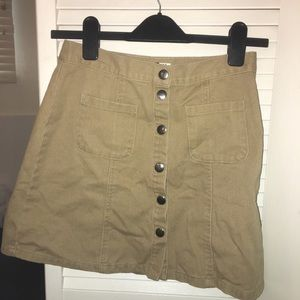 BDG button-down skirt
